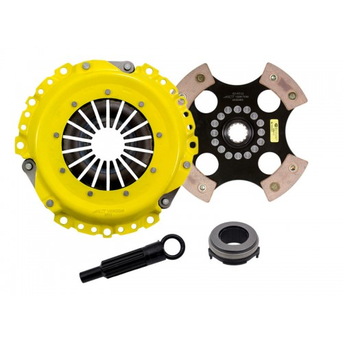 HD 4 Pad Sprung Clutch Kit Mini Cooper S (R52/R53) 02-08 Supercharged 6SPD