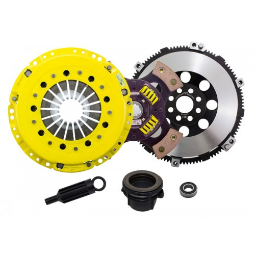 HD 4 Pad Sprung Clutch Kit and Flywheel BMW E46 M3 3.2