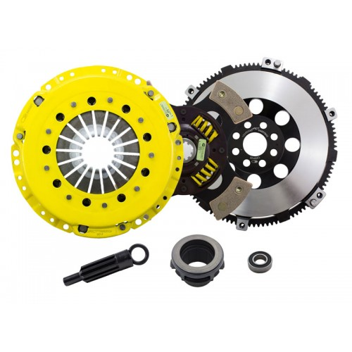 HD 4 Pad Sprung Clutch Kit and Flywheel BMW E36 323i/325i/328i/330i