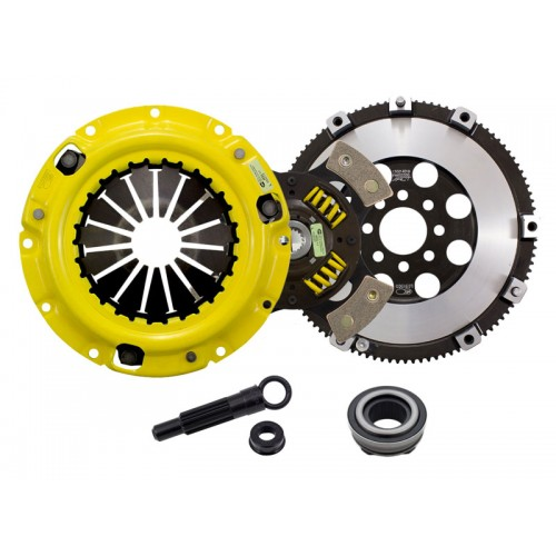 HD 4 Pad Sprung Clutch Kit Mitsubishi Eclipse GS/RS 95-99 Non Turbo 2.0 Conversion Kit