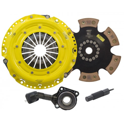 HD 6 Pad Unsprung Clutch Kit Ford Focus ST250 13-15