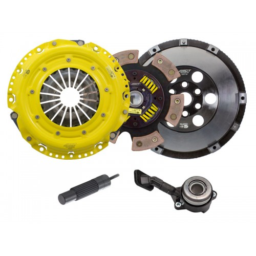 HD 6 Pad Unsprung Clutch Kit and Flywheel Ford Focus ST250 13-15