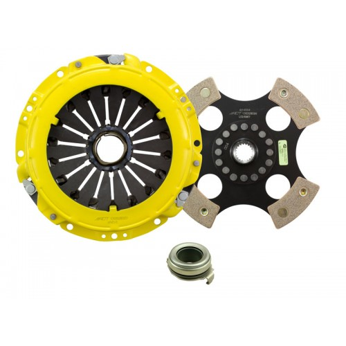 HD 4 Pad Unsprung Clutch Kit Hyundai Elantra  GLS, GT 96-06 1.8/2.0 215mm