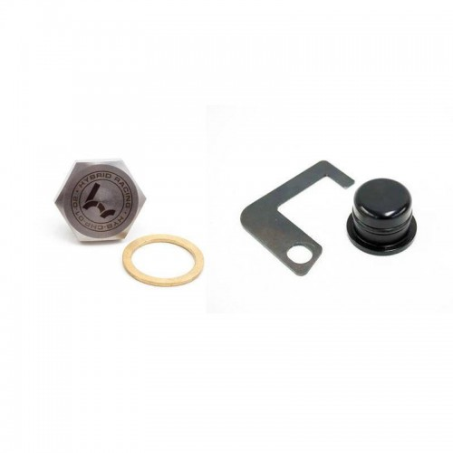 Hybrid Racing Heater Delete kit (include thermo housing plug and bracket & head plug)