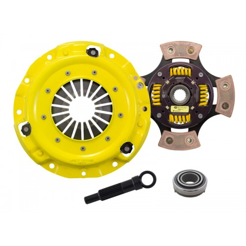 HD 4 Pad Sprung Clutch Kit Hyundai S Coupe 91-95 1.5 NA 200m