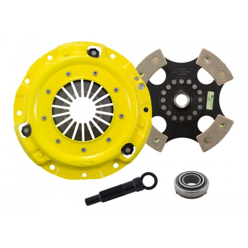 HD 4 Pad Unsprung Clutch Kit Hyundai Elantra 92-9/93 1.6 200mm