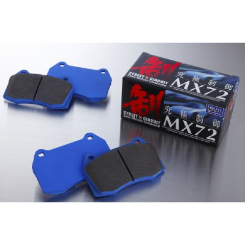 Endless MX72 Front Pad Set Fabia vRS 1.4 Turbo (ATE Calliper)