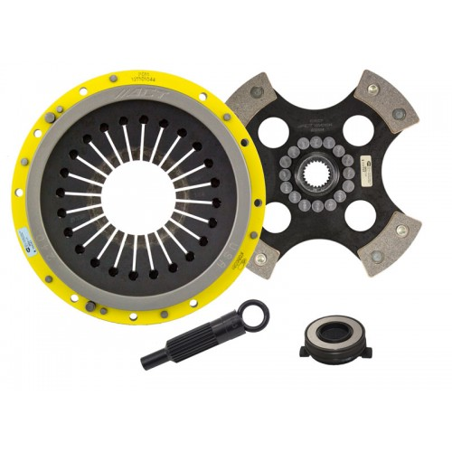 HD 4 Pad Unsprung Clutch Kit Porsche 911 91-98 (964/993) 3.3 Turbo, 3.6 Twin Turbo, 3.6 Non Turbo