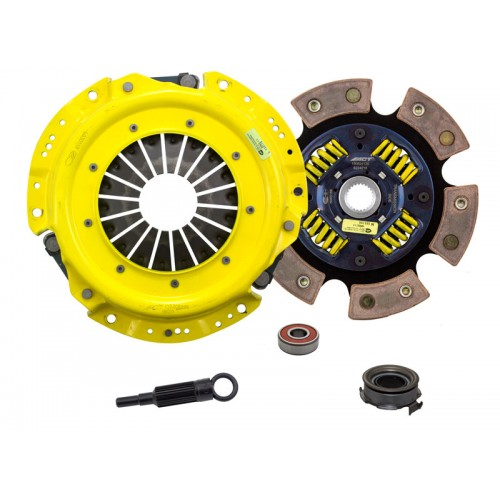 HD 6 Pad Sprung Clutch Kit SAAB 9-2X Linear 2005 2.5 4Cyl 225mm