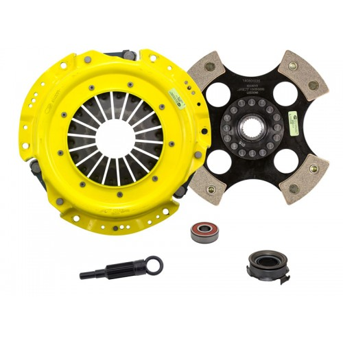 HD 4 Pad Unsprung Clutch Kit SAAB 9-2X Linear 2005 2.5 4Cyl 225mm