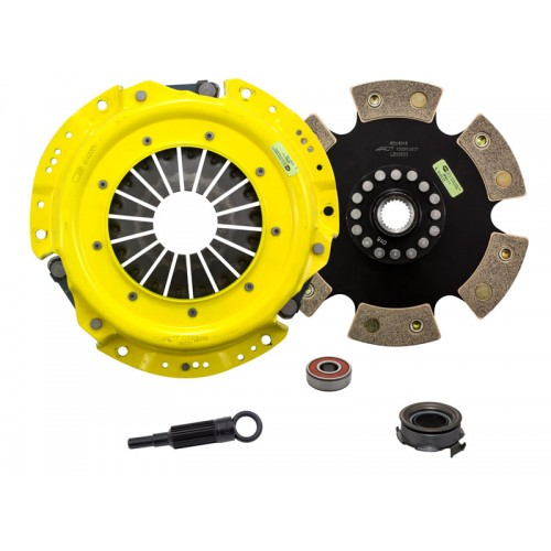 HD 6 Pad Unsprung Clutch Kit SAAB 9-2X 2.5i 2006 2.5 4Cyl 5Spd 225mm