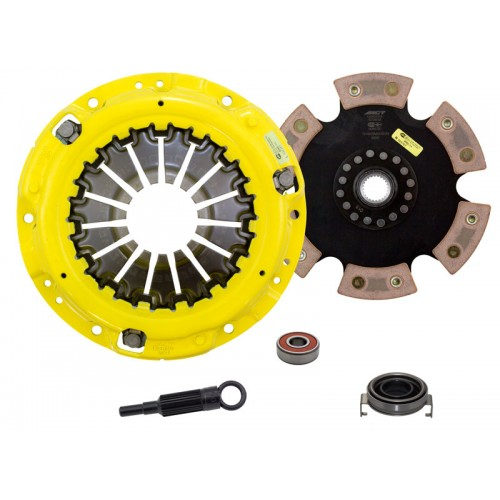 HD 6 Pad Unsprung Clutch Kit SAAB 9-2X Aero 2006 2.5 Turbo 5Spd 230mm