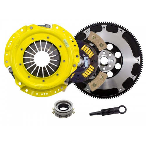 HD 4 Pad Sprung Clutch and Streetlite Flywheel Kit Scion FR-S 2013 2.0 6Spd