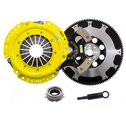 HD 4 Pad Unsprung Clutch and Streetlite Flywheel Kit Scion FR-S 2013 2.0 6Spd