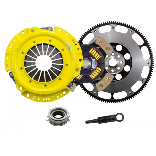 HD 4 Pad Sprung Clutch and Prolite Flywheel Kit Scion FR-S 2013 2.0 6Spd