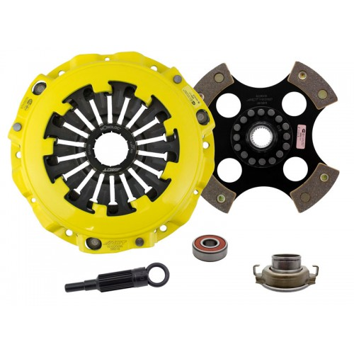 HD 4 Pad Unsprung Clutch Kit SAAB 9-2X Aero 2005 2.0 Turbo 230mm