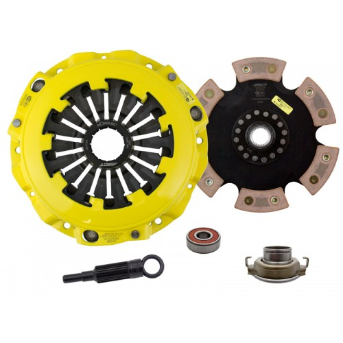 HD 6 Pad Unsprung Clutch Kit SAAB 9-2X Aero 2005 2.0 Turbo 230mm
