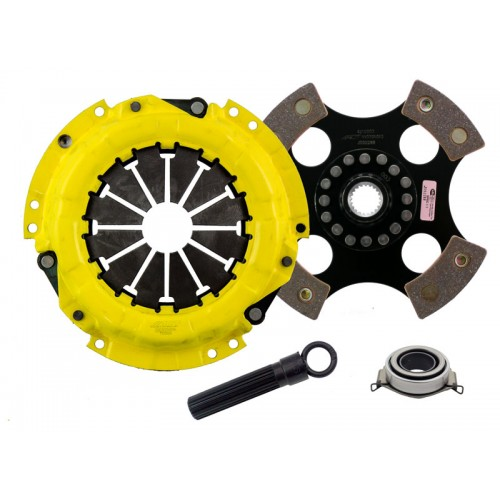 Sports 4 Pad Unsprung Clutch Kit Scion xD 08-11 1.8 212mm