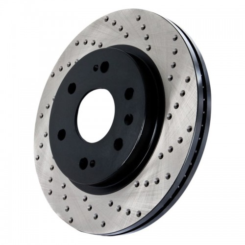 Drilled Front Discs 911 (991) Carrera (Brembo - Iron Drilled Discs)