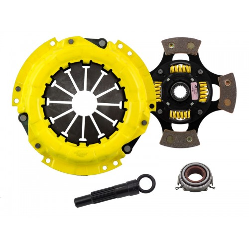 HD 4 Pad Sprung Clutch Kit Toyota Celica 9/89-5/91 1.6 ST 212mm (also 4E-FTE)