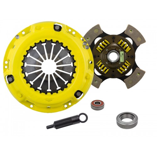 HD 4 Pad Sprung Clutch Kit Toyota Celica 9/77-8/80 20R 2.2 and 9/80-7/85 22R 2.4 224mm