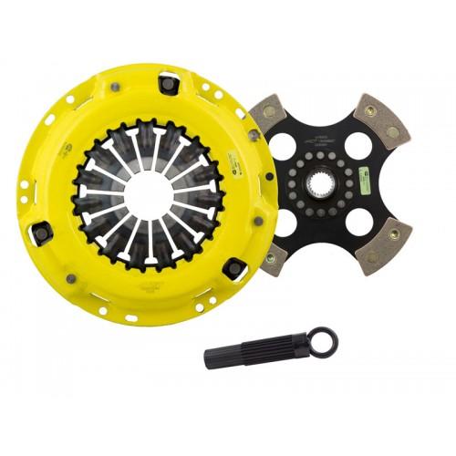 HD 4 Pad Unsprung Clutch Kit Scion tC 2011 2.5 (2AR-FE) 236mm