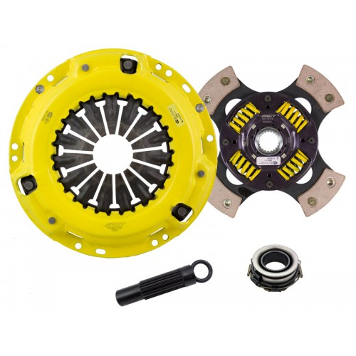 HD 4 Pad Sprung Clutch Kit Toyota Camry 8/88-91 2.0 4WD 236mm